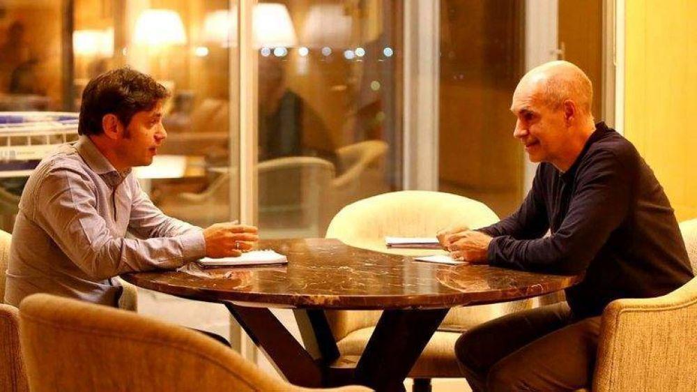 Axel Kicillof y Horacio Rodríguez Larreta comparten la idea de mantener la cuarentena sin cambios y se encaminan a un acuerdo