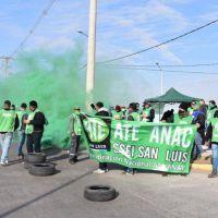 San Luis: Trabajadores aeroportuarios exigen a ATE-ANAC fijar fecha para un paro nacional