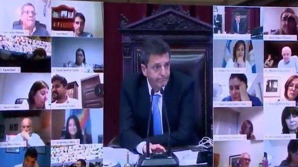 """Sergio Massa: """"No podemos cerrar el Congreso para no resolverles el problema de justicia a los argentinos"""""""