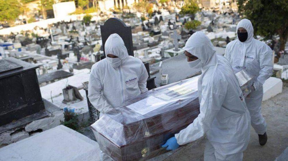 La pandemia no da tregua: ya infectó a 20 millones de personas en el todo el mundo