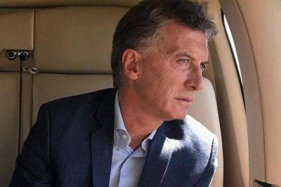Macri critica la cuarentena desde Francia