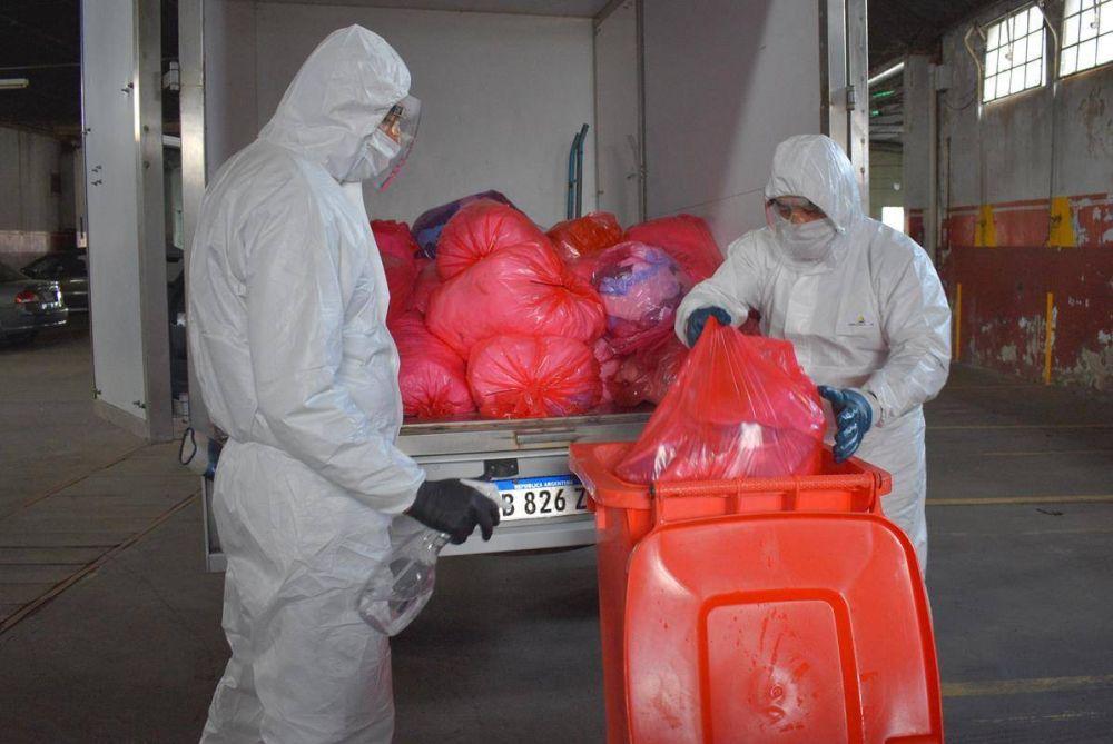 Desde el municipio recomiendan mayor cuidado en la manipulación de residuos patológicos