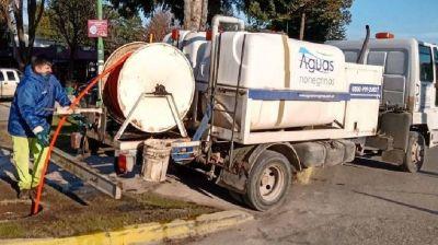 Aguas Rionegrinas reiteró la importancia de no arrojar basura al sistema cloacal