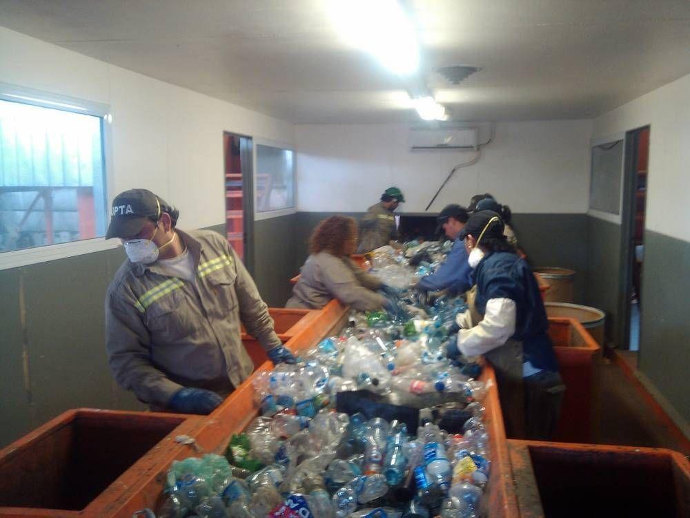 Barrios saludables destinó 700 kilos de residuos reciclables al Parte de Tecnologías Ambientales
