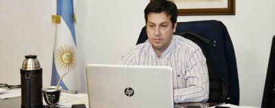 Rojas mantuvo un encuentro con Kicillof y aseguró que pronto iniciarán obras en el distrito
