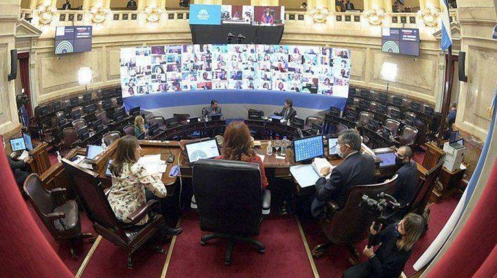 Senado convoca a sesión por proyectos económicos clave