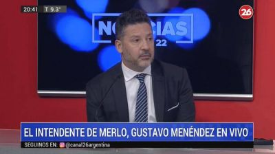 Gustavo Menéndez sobre coronavirus: