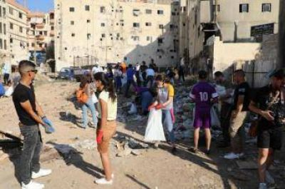 Cristianos y musulmanes recomponen juntos Beirut