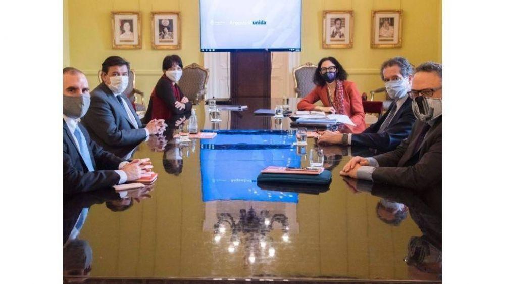 Post-pandemia: Reunión clave del gabinete económico