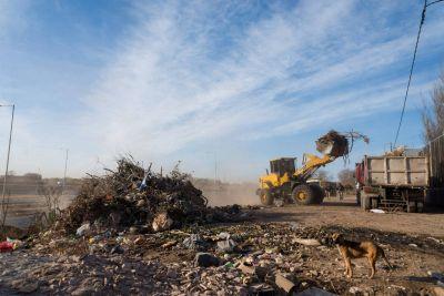 Quitaron más de 250.000 kilos de residuos de un macro basural en Córdoba