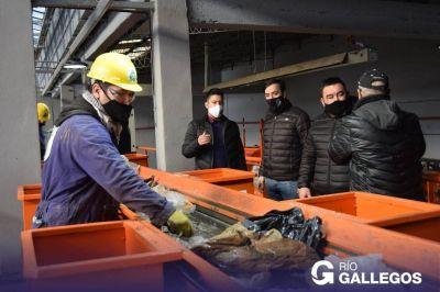 """Grasso visitó la planta de reciclaje y destacó: """"Nos estamos ocupando con hechos concretos"""""""