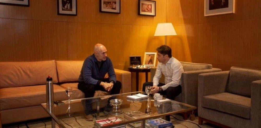 Se reunieron Axel Kicillof y Horacio Rodríguez Larreta: habrá pocos cambios en la cuarentena de la Ciudad y en Provincia seguirá igual