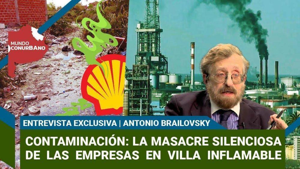 Contaminación: la masacre silenciosa de las empresas en Villa Inflamable