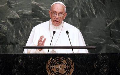 El Papa hablará en la ONU sobre la pospandemia