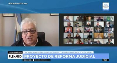 Piumato se convirtió en uno de los pilares contra la Reforma Judicial y hasta le dijo mentiroso a Fernández
