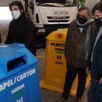 El Municipio «rediseña» el programa de reciclado «Morón Verde» y comienza por contenedores en hospitales públicos