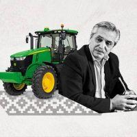 Operativo seducción del campo: Alberto envía señales políticas a los pequeños productores