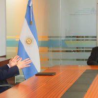 Fernando Gray se reunió con Roberto Salvarezza