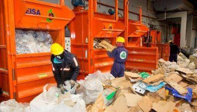 Desde hoy la planta de reciclado funciona al 100% de su capacidad
