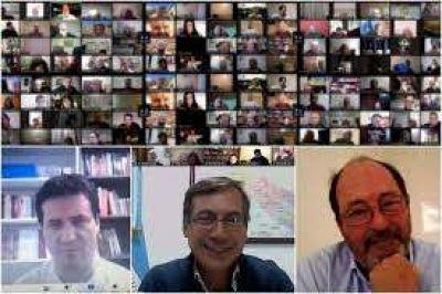 La interna bonaerense se coló en un nuevo cónclave virtual de la UCR