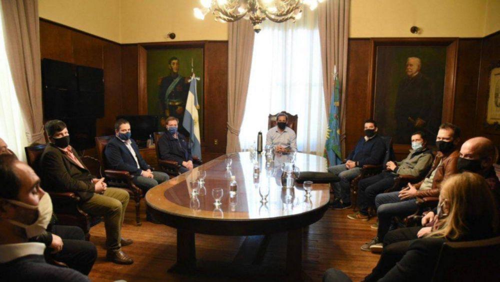 Garro le pedirá a Kicillof reactivar la construcción privada