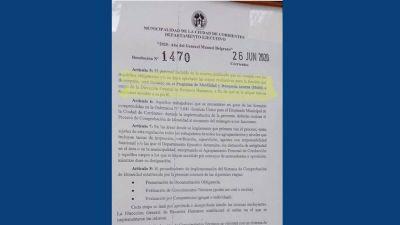 Corrientes: unos 600 municipales temen perder su empleo y acusan al intendente de querer tomar militantes para las elecciones