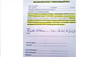 Furia de los médicos porque Morales les quiere hacer firmar una declaración jurada para abandonarlos en la pandemia