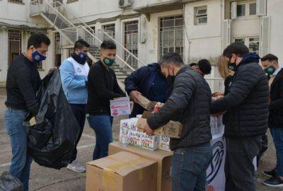 La Juventud de la CGT entregó juguetes en el Hospital de Niños Ricardo Gutiérrez