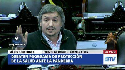 Máximo Kirchner encabezaría una lista en las elecciones del PJ el 20/12