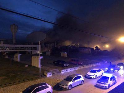 Rojas, sobre el incendio del complejo Casino: