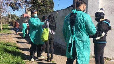 Voluntarios de la UNLP testearon esta semana a 5.442 personas de la Región Capital