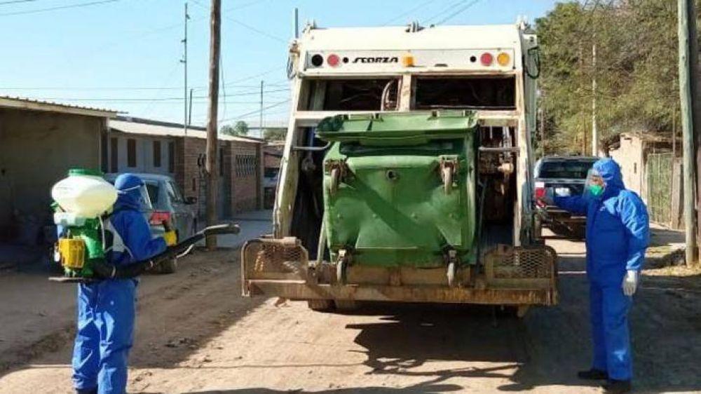 La Banda: plan de recolección de residuos para pacientes aislados por Covid-19