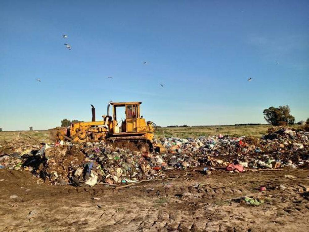 Coronel Dorrego: Mejoras en el depósito de residuos