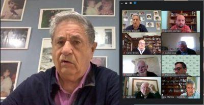 Duhalde se mete en la agenda de crisis bonaerense para llegar a un acuerdo con Kicillof