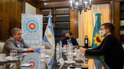 Duhalde volvió a la Gobernación: Kicillof le abrió la puerta