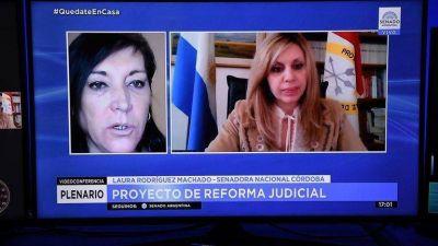 Senado: Juntos por el Cambio adelantó que rechazará el proyecto de reforma judicial que impulsa el kirchnerismo