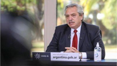 Alberto destacó la reactivación industrial y dijo que el país se ha recuperado