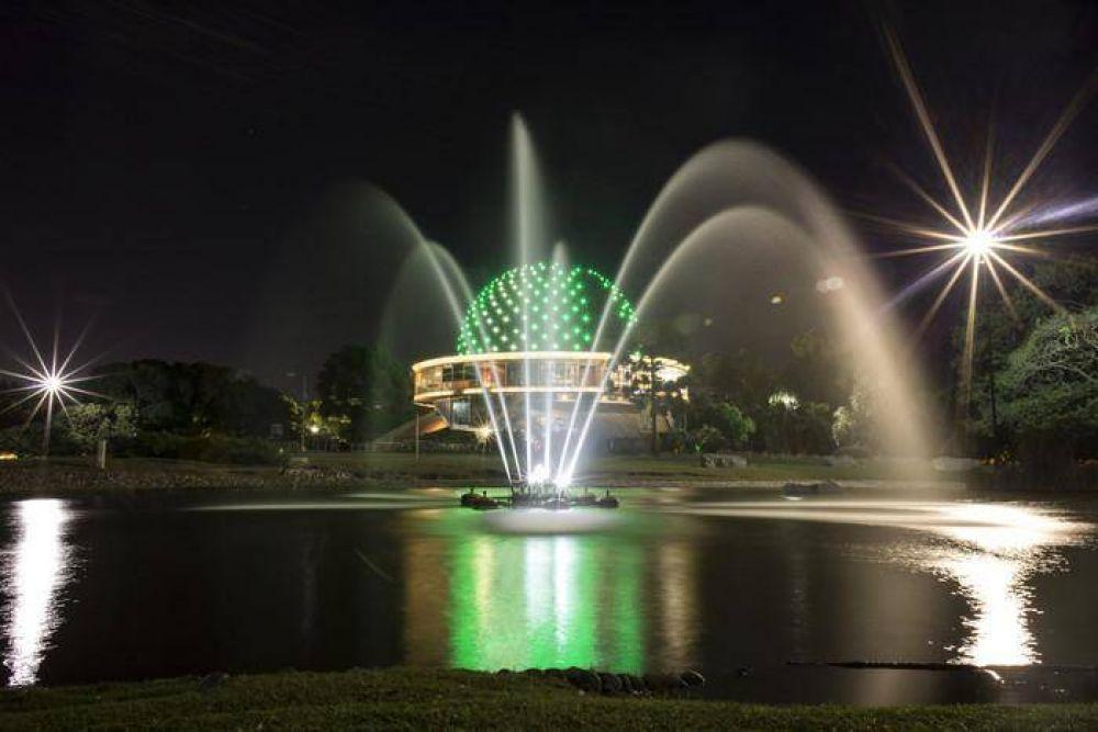 Se iluminan monumentos de verde por la Semana de la Sustentabilidad y los Premios Latinoamérica Verde