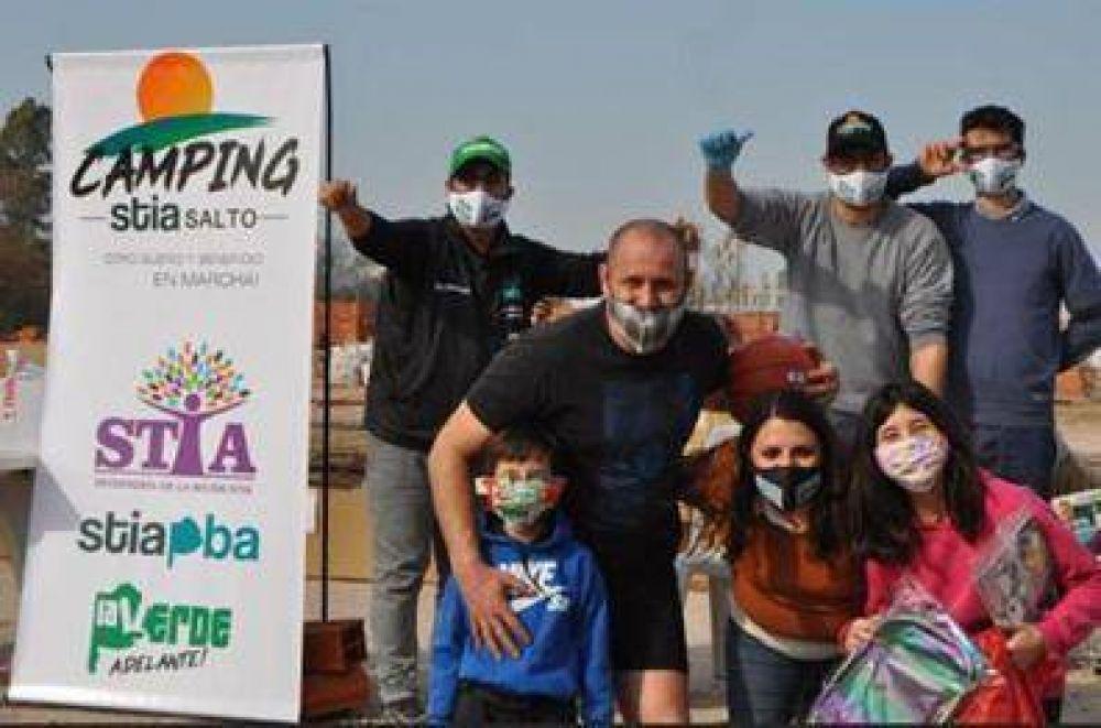 Día del Niño: regalos del STIA bonaerense para los hijos de sus afiliados