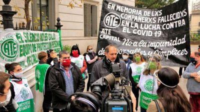 Ya son 8 los trabajadores y trabajadoras de salud fallecidos en la Ciudad