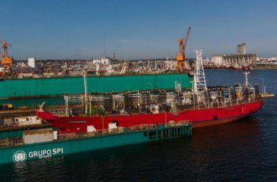 Comienza la construcción de una draga en Mar del Plata