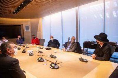 El Jefe de Gobierno de la Ciudad de Buenos Aires se reunió con líderes religiosos