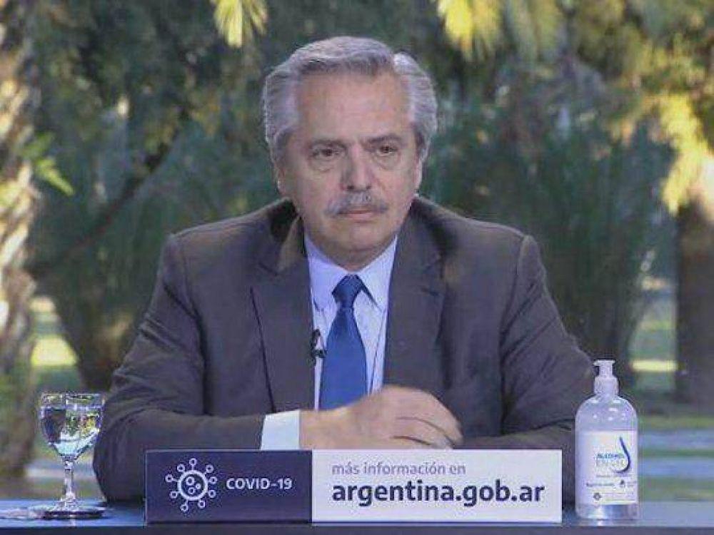 Alberto Fernández anuncia obras para San Fernando, Escobar y Malvinas Argentinas