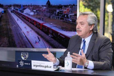Alberto Fernández busca un estado más presente en obra pública y seguridad