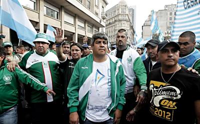 Pablo Moyano, entre el banquillo y la prisión