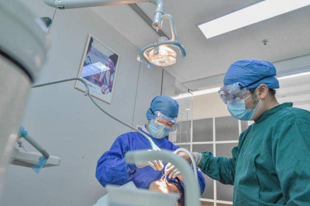 Odontólogos establecieron un Módulo Covid que es absorbido por pacientes
