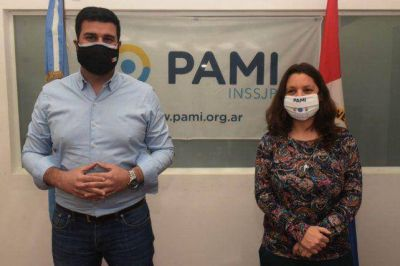 Marcos Cleri y Yanina Muratore destacaron la gestión de Pami en la pandemia