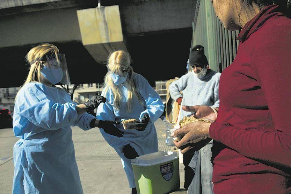 Coronavirus: los que quedaron en la calle por la pandemia