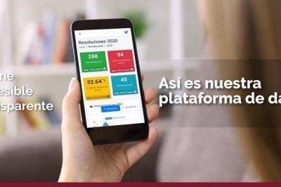 Una nueva app de datos abiertos en la Justicia porteña