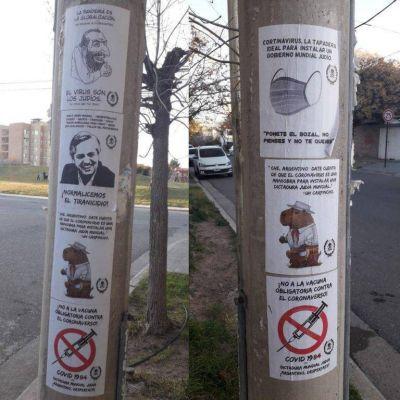 El Centro Wiesenthal repudió los mensajes antisemitas que aparecieron en Neuquén y pidió la intervención de las autoridades nacionales